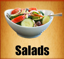 Salads - Divine Pizza - Burpengarry